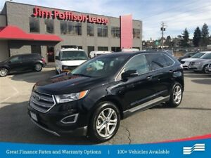 2017 Ford Edge Titanium w/NAV, Pana Roof, leather
