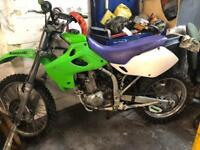 Klx 250 with 300 bore