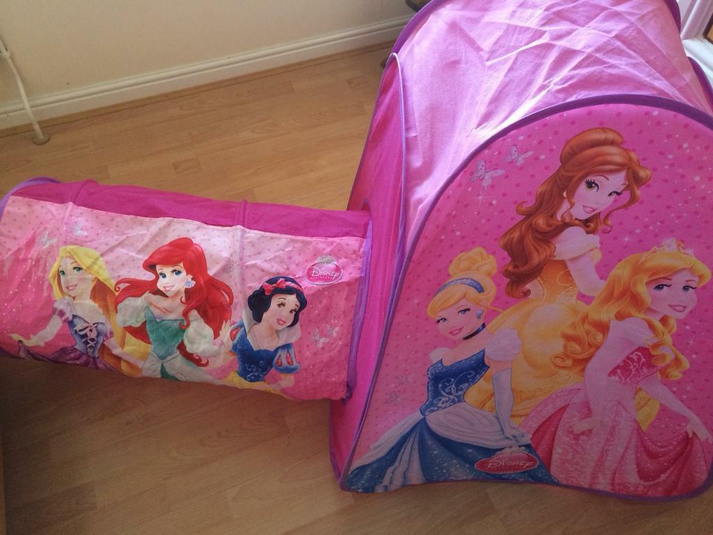 01a847668f44 Disney princess pop up play tent and tunnel | in Radyr, Cardiff | Gumtree