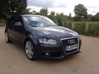 Audi A3 2.0 TDI S Line Sportback auto 2010 full service history hpi clear p/x welcome