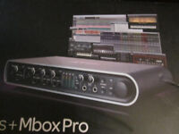 Mbox Pro breakout box..never used..sensible offers considered