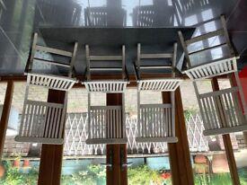 Garden chairs wooden