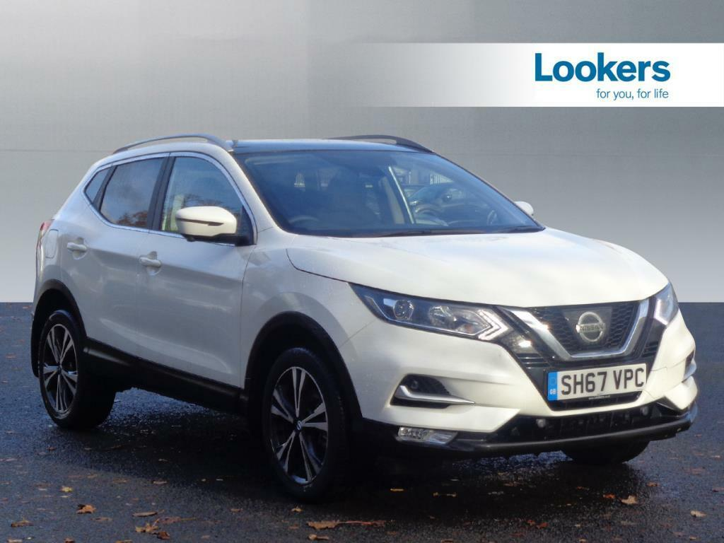 nissan qashqai n connecta dci white 2017 10 31 in motherwell north lanarkshire gumtree. Black Bedroom Furniture Sets. Home Design Ideas