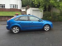 New shape Ford Focus 5 door stunning blue ,drives well px welcome