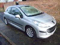 PEUGEOT 207 HDi 1.4L WITH A LONG MOT, FULL HISTORY WITH A BRAND NEW CAMBELT & ONLY £30 A YEAR TO TAX