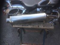 Triumph Daytona 955i exhaust end can original. Great condition almost new