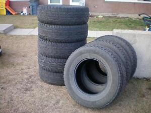 8 Nokian Rotiiva AT Winter Tires * 265 70R17 115T * $160.00 for 8 .  M+S / Winter Tires ( used tires )