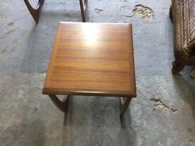 G Plan retro coffee table nest