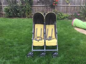 Mamas and Papas Kato Twin Double Buggy