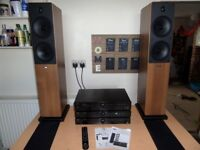 Tibo TI430 Separates System with Bluetooth Amplifier - Dab Radio - CD Player & Speakers