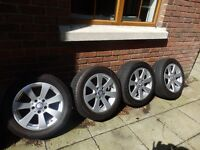 "16"" Mercedes C Class alloys and tyres £295"