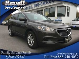 2015 Mazda CX-9 GS AWD  *1-owner  Moon  Leather  Nav