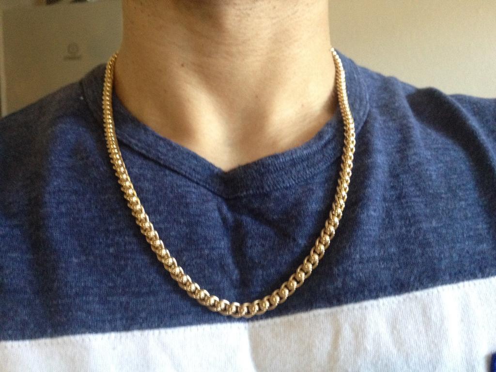 e24bbe516494e 9ct Gold RollerBall Chain, 41.2g, 22