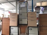 Office Furniture Filing Cabinets 2,3,4 & 5 Drawer Cabinets Available - New & Ex-Display