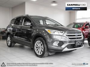 2017 Ford Escape Titanium 14,000 KMS-LEATHER-AWD-NAV-LOADED