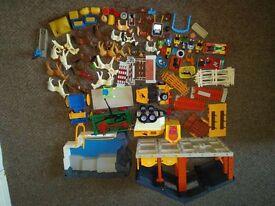 Box of Playmobil