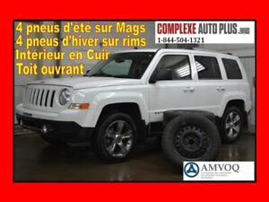 2016 Jeep Patriot High Altitude AWD 4x4*Cuir,Toit ouvrant,8 pneu