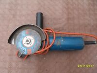 a small angle grinder