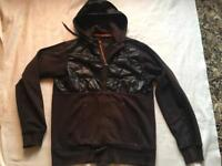 Adidas men's hoodies full zipper black size small used £7