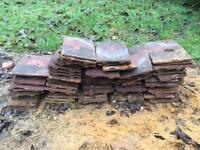FREE - Approx 60 reclaimed roof tiles