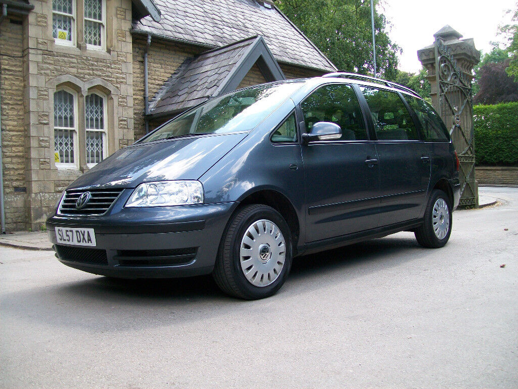 VW SHARAN, 57 PLATE, 2.0 TDI S, 6 SPEED MANUAL, 7 SEATER
