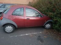 Ford ka just run out mot
