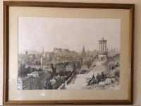 Framed Prints of Old Edinburgh