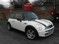 MINI Hatch 1.6 One 3dr£2,485 p/x welcome FREE WARRANTY.NEW MOT