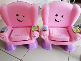 Fisher price educational seats