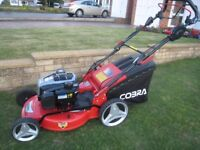 Cobra MX515SPB Petrol Lawnmower Self Propelled (5Speed) 2017 Model Used Twice As New Condition