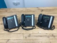 LG Ericsson iPECS LIP-8012E IP Gigabit Telephones x3