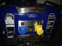 2500w Ford Generator. Very good condition.