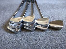 Titleist 695MB Forged Irons + 54 Vokey Wedge