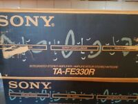 Sony Amplifier TA-FE330R with remote