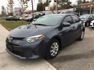2015 Toyota Corolla LE HTD SEATS BACK UP CAMERA