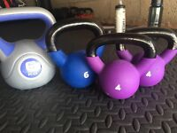 Kettlebells for sale ! Mint condition