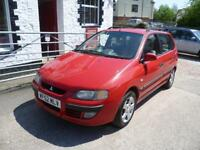 MITSUBISHI SPACE STAR 1.6 Equippe 5dr (red) 2002