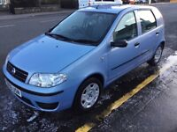 Fiat punto full service history with new timing belt and water pump