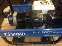 SDMO HX3000 3.5KVA Petrol Generator
