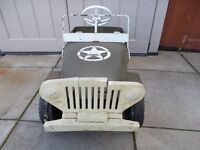 Triang Toys Pedal Car Jeep