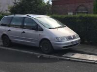 Volkswagen sharan braking