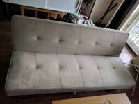 John Lewis grey fabric Click clack sofa bed free delivery