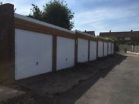 8 Garages + 2 Containers in gated compound for Sale Producing £6720 with further potential of 10% yi