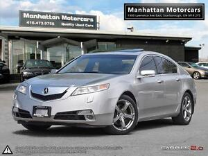 2010 ACURA TL TECH PKG SH-AWD |NAV|CAMERA|PADDLESHIFT|NOACCIDENT