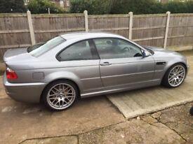 BMW E46 M3 £10k spent on car, very rare color combination