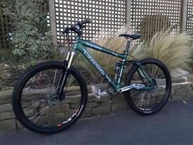 Kona dawg deluxe XC/Downhill bike, HIGH SPEC, FOX, DEORE