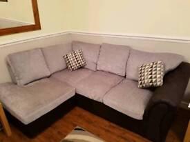 Corner sofa & chair