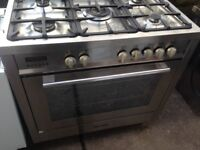 Silver Range Gas cooker 90cm......Cheap Free Delivery