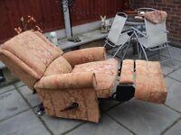 Parker Knoll manual reclining chair