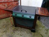 Large Gas Barbeque with gas bottle